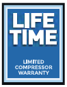 LIFETIME COMPRESSOR WARRANTY